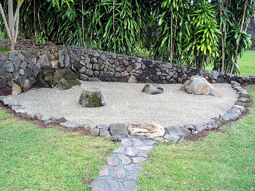 Op hale Pictures of zen rock gardens
